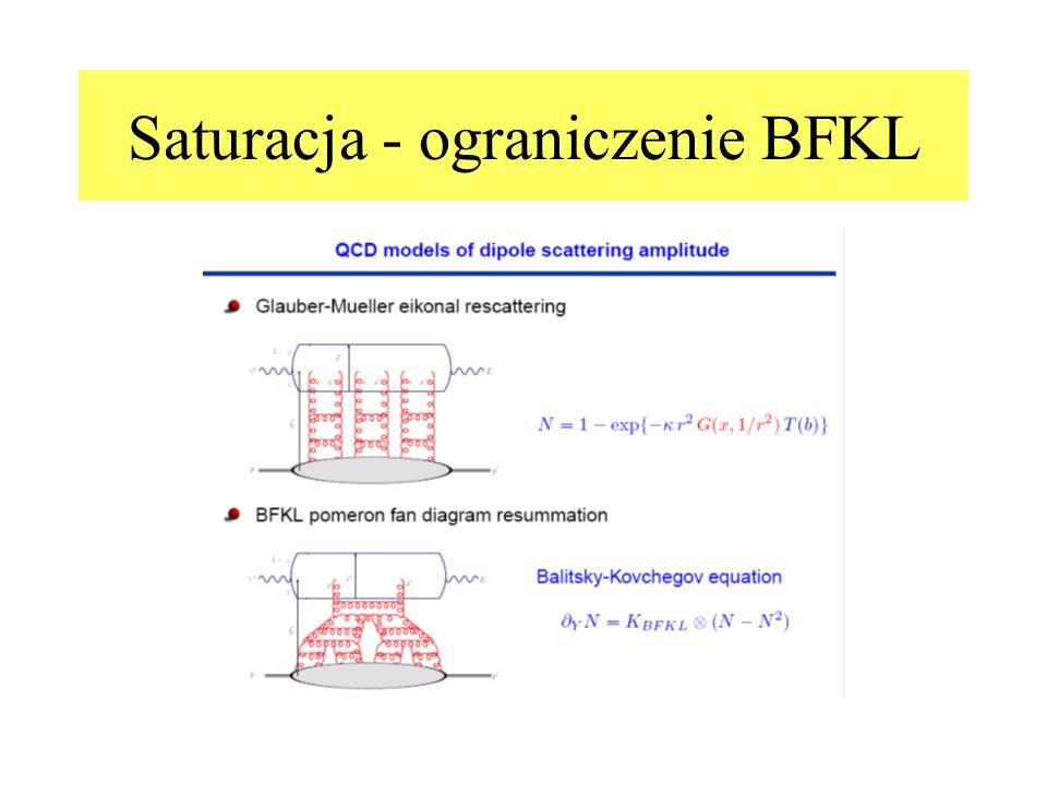 Saturacja - ograniczenie BFKL