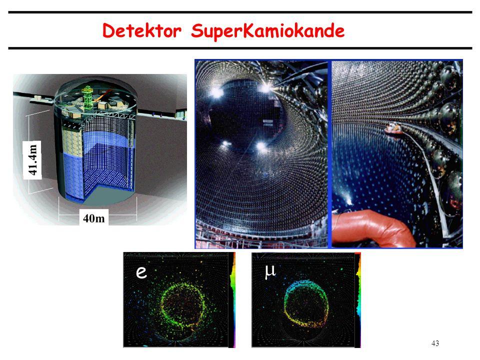 43 Detektor SuperKamiokande e