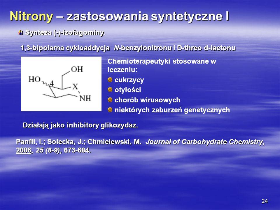 24 Chemioterapeutyki stosowane w leczeniu: cukrzycy otyłości chorób wirusowych niektórych zaburzeń genetycznych Panfil, I.; Sołecka, J.; Chmielewski,