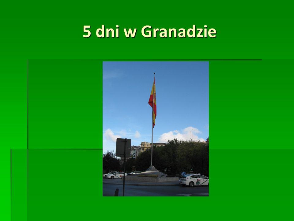 5 dni w Granadzie