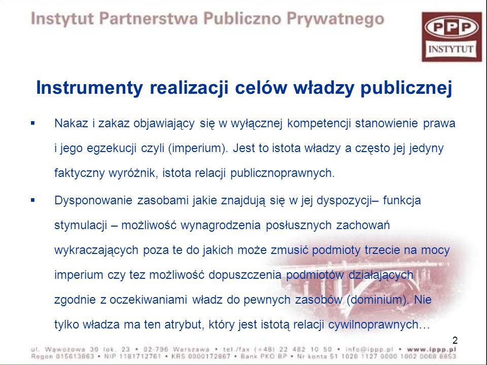23 WYNAGRODZENIE Z BUDŻETU - Wniosek o zgodę na finansowanie przedsięwzięcia PPP zawiera: a) Określenie podmiotu publicznego (wnioskodawcy), b) Określenie przedsięwzięcia, c) Przewidywaną wysokość środków z budżetu państwa (WSPÓŁFINANSOWANIE DLA ŚRODKÓW UNIJNYCH ?), d) Przewidywany podział ryzyk.