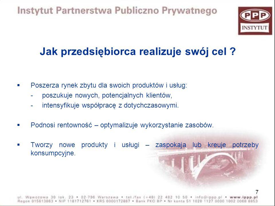 18 Partnerstwo publiczno-prywatne w rozumieniu ustawy art.