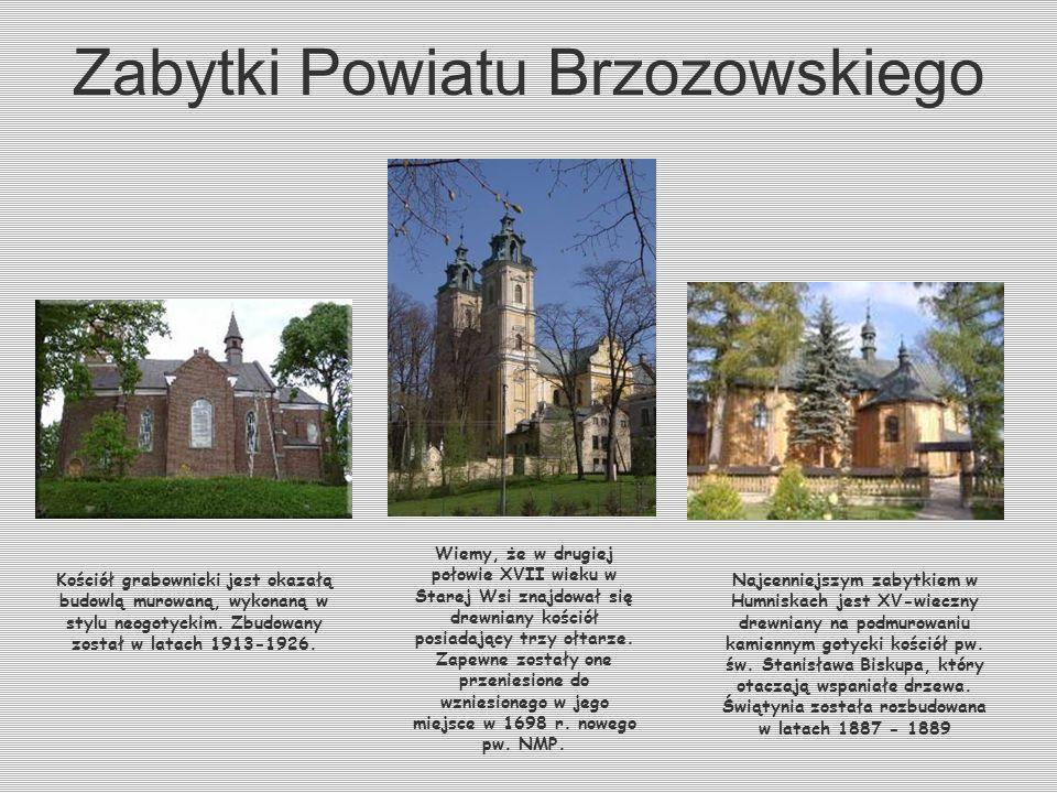 Zabytki Brzozowa Najcenniejszym zabytkiem Brzozowa jest kościół parafialny pw. Przemienienia Pańskiego. Zbudowany został w latach 1676-86. Konsekrowan