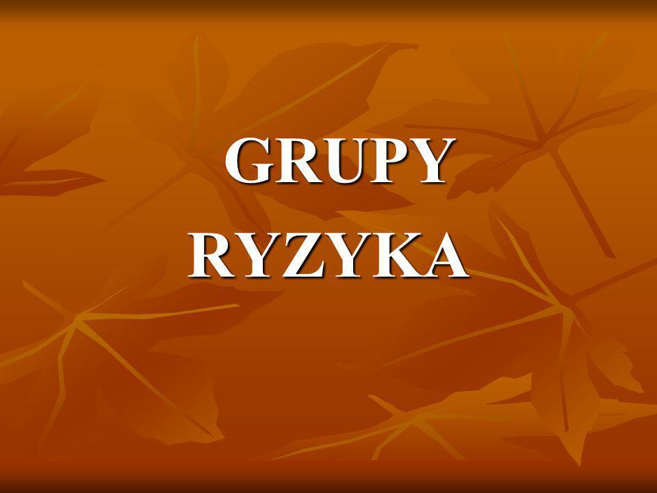GRUPY GRUPYRYZYKA