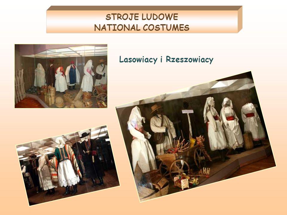 STROJE LUDOWE NATIONAL COSTUMES Lasowiacy i Rzeszowiacy