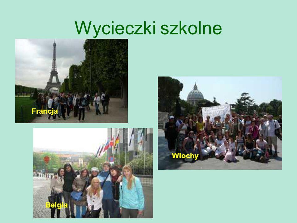 Wycieczki szkolne Francja Włochy Belgia