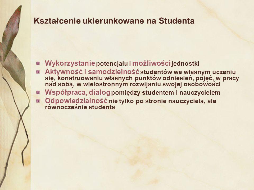 wzrost świadomości prawnej zorientowanie kształcenia na efekty uprawnienia studentów wzmacniające jego podmiotowość wpływanie na jakość kształcenia poprzez uczestnictwo w projektowaniu programu studiów, możliwości pozyskania specjalnych stypendiów naukowych i ocenie pracy nauczycieli akademickich mobilność i porównywalność dyplomów aktywizowanie swoich przedstawicieli w samorządzie studenckim Pożytki dla studentów wynikające z obecnie zaprojektowanych zmian polskiego prawa
