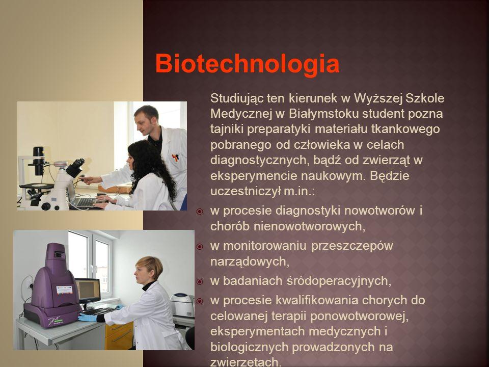 Studiując ten kierunek w Wyższej Szkole Medycznej w Białymstoku student pozna tajniki preparatyki materiału tkankowego pobranego od człowieka w celach