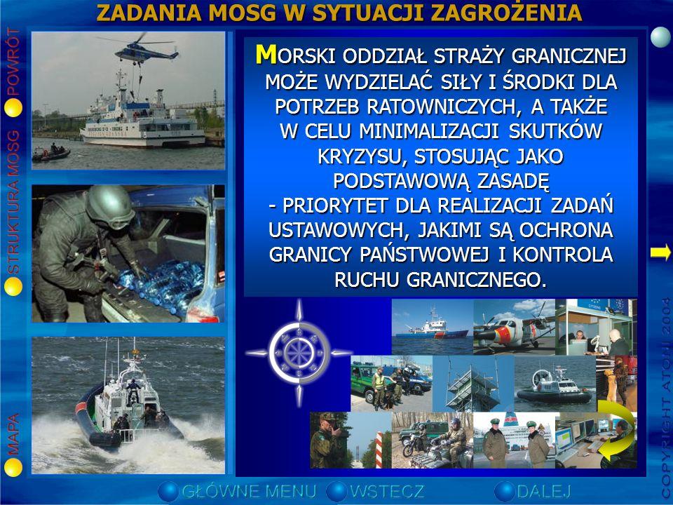 GŁÓWNE ZAGROŻENIA WYSTĘPUJĄCE NA GRANICY MORSKIEJ Zorganizowany, o charakterze międzynarodowym, przemyt narkotyków do Polski; Zorganizowany, o charakt