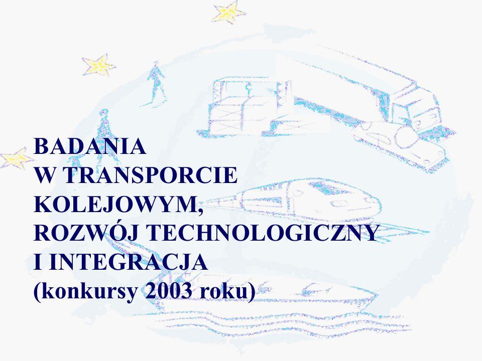 Projekty badawcze dla transportu wodnego Technologie pomiarowe i czujniki oddziaływania na środowisko (1.7).