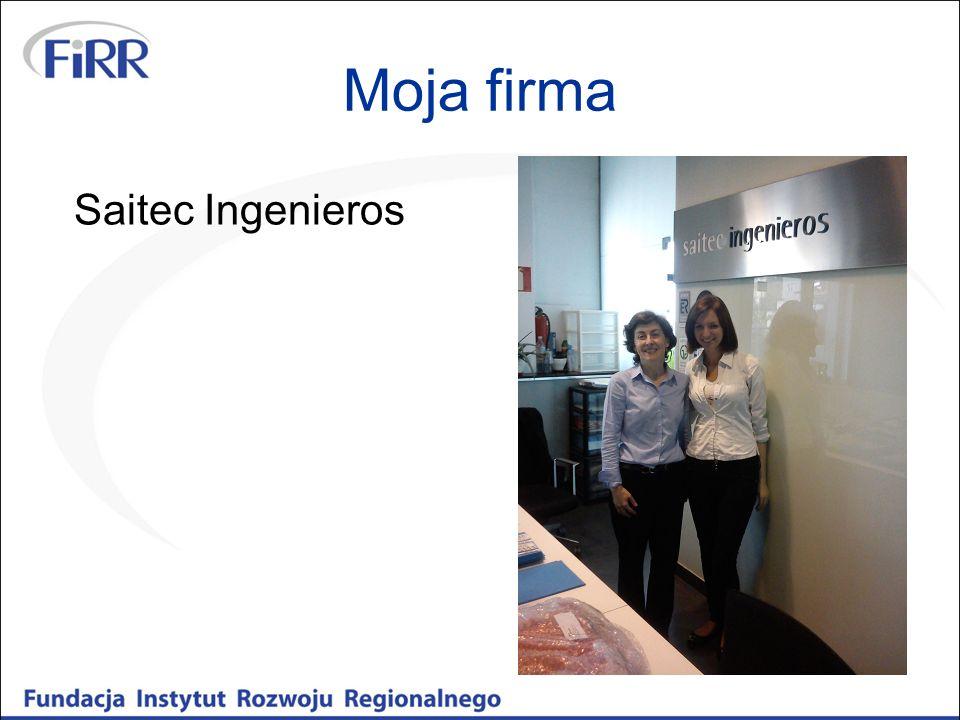 Moja firma Saitec Ingenieros