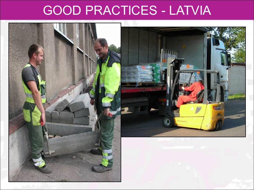 GOOD PRACTICES - LATVIA
