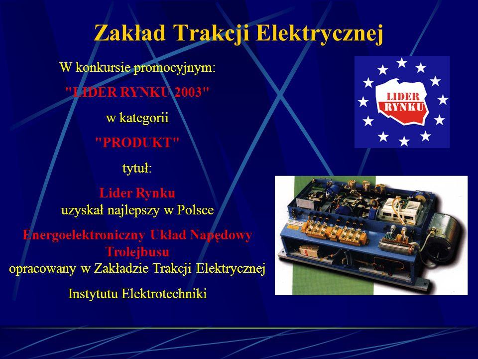 Zakład Trakcji Elektrycznej W konkursie promocyjnym: