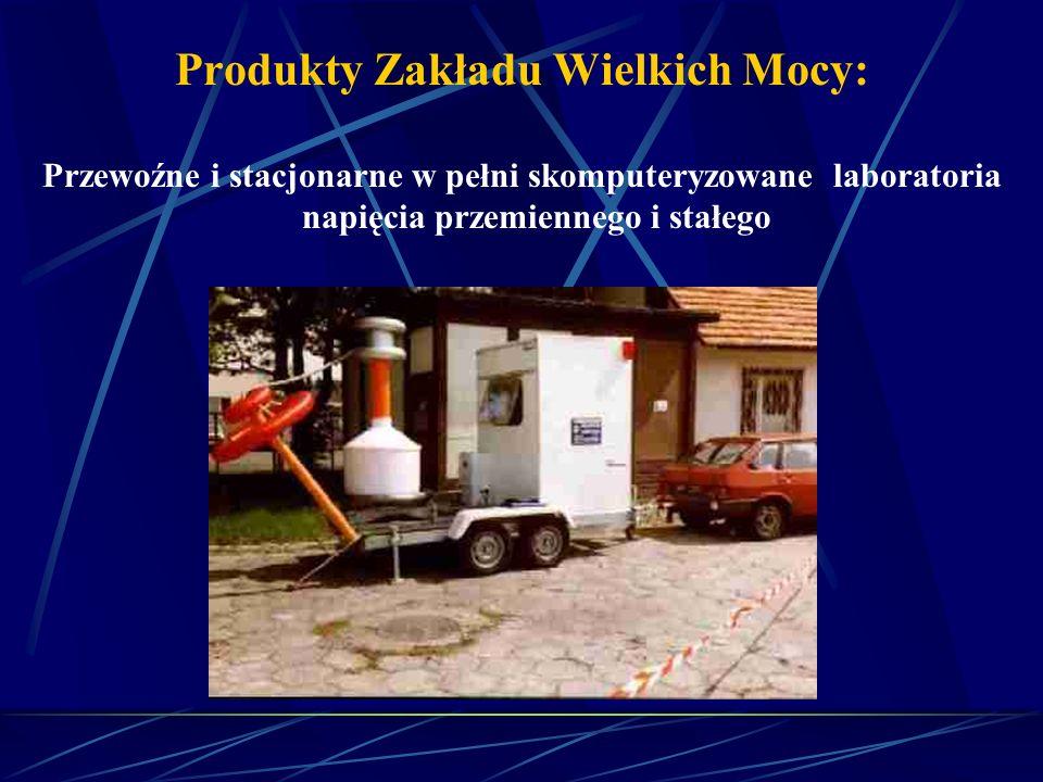 Produkty Zakładu Wielkich Mocy: Przenośne Generatory Udarów Prądowych i Napięciowych
