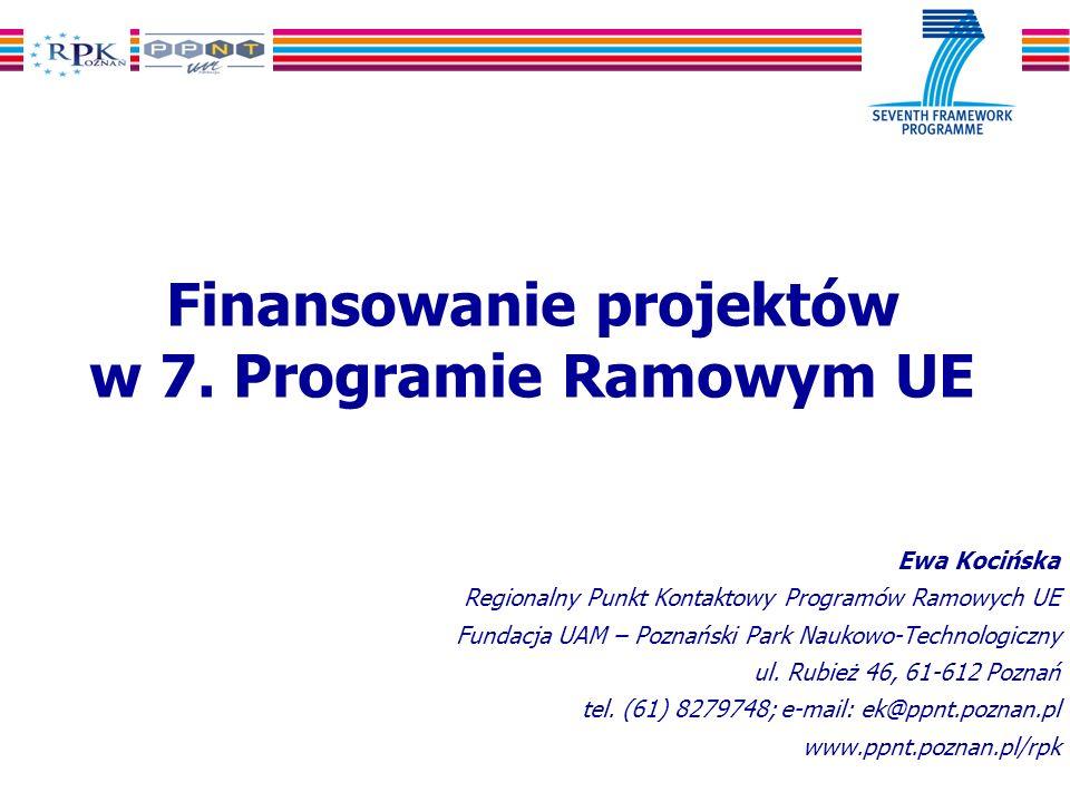 Finansowanie projektów w 7.