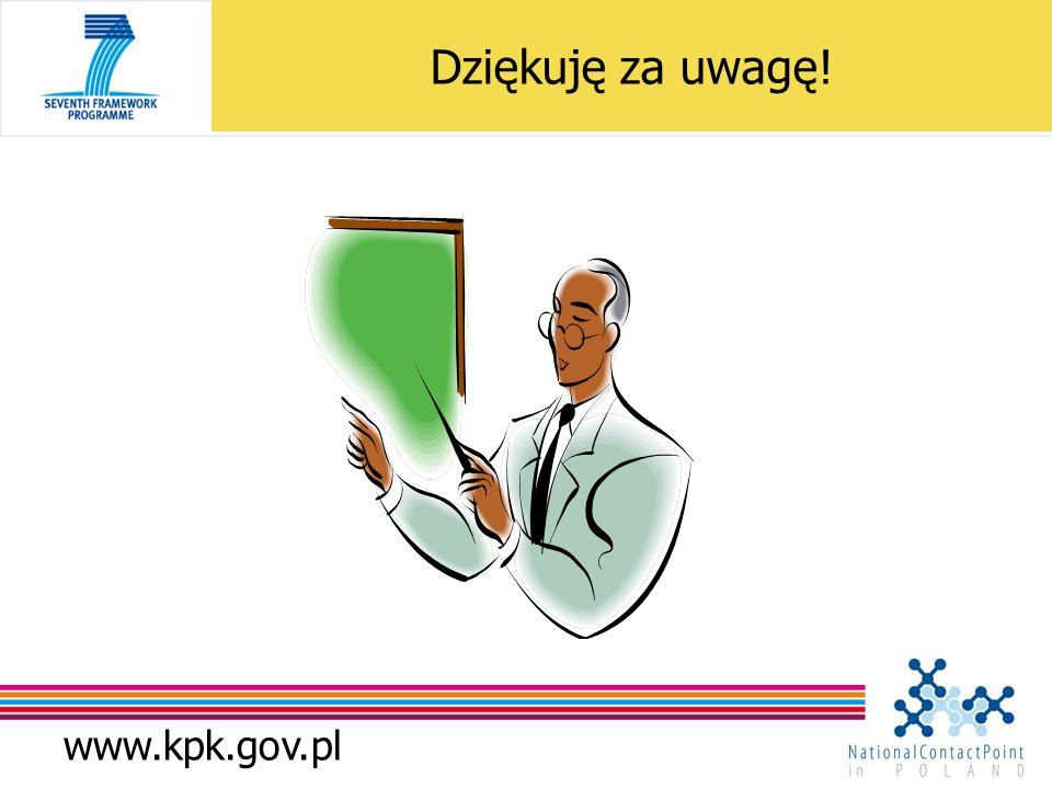 www.kpk.gov.pl Dziękuję za uwagę!