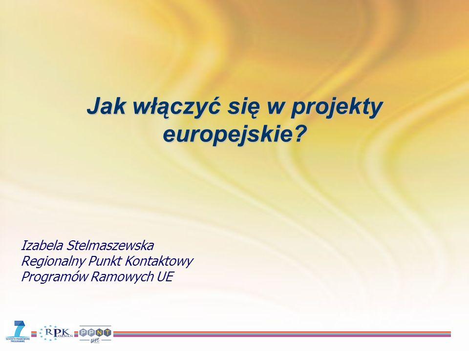 Jak włączyć się w projekty europejskie.
