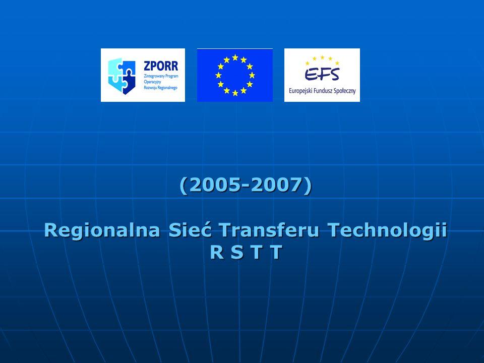 (2005-2007) Regionalna Sieć Transferu Technologii R S T T