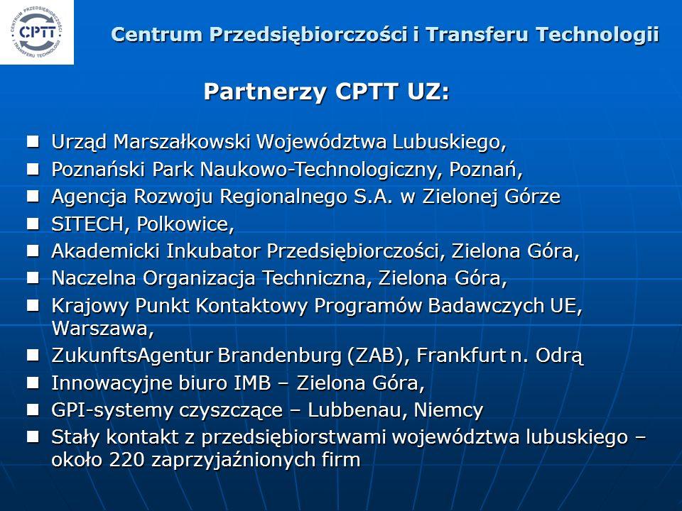 Urząd Marszałkowski Województwa Lubuskiego, Urząd Marszałkowski Województwa Lubuskiego, Poznański Park Naukowo-Technologiczny, Poznań, Poznański Park