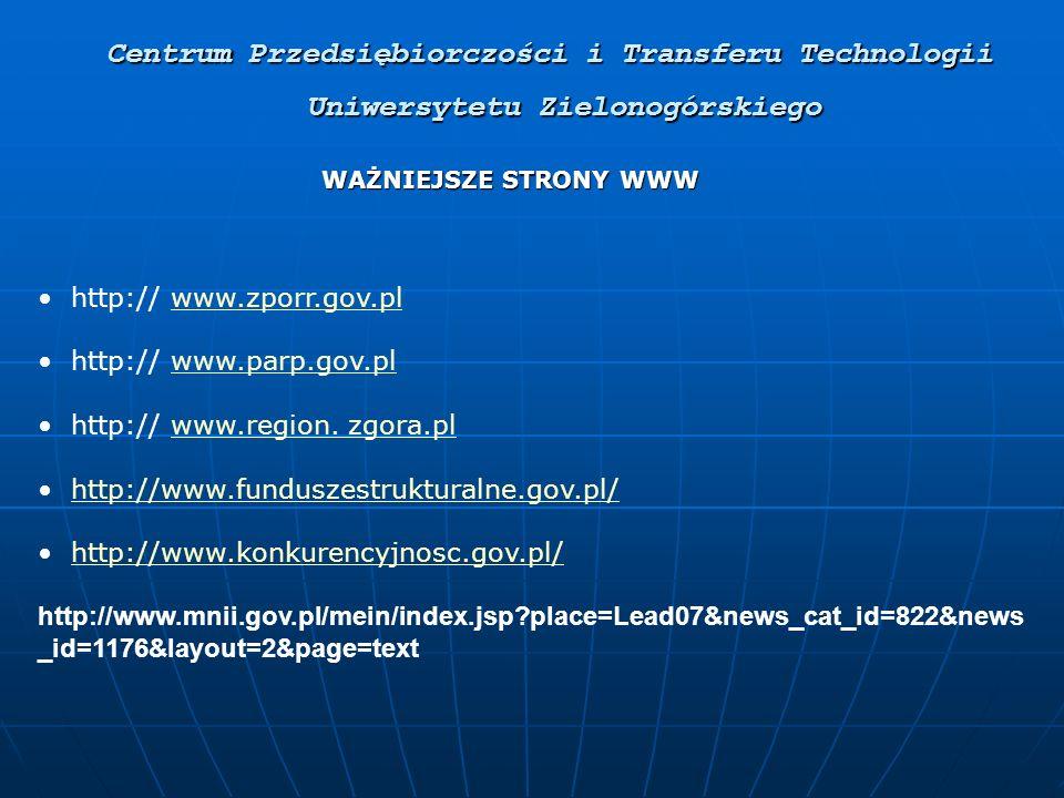 http:// www.zporr.gov.plwww.zporr.gov.pl http:// www.parp.gov.plwww.parp.gov.pl http:// www.region.