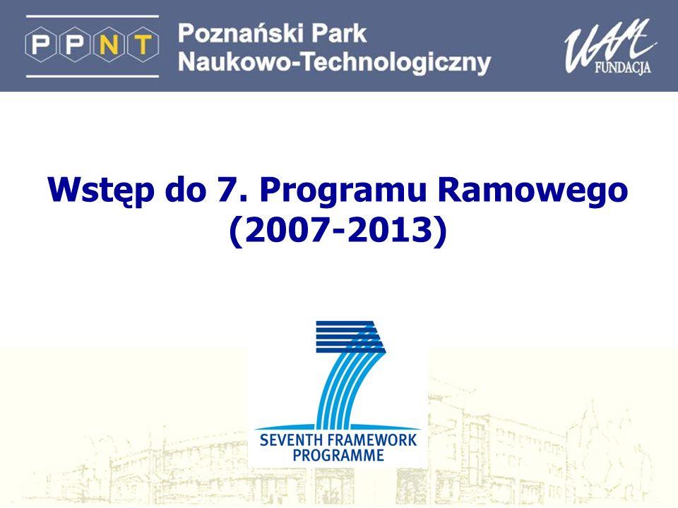 Wstęp do 7. Programu Ramowego (2007-2013)