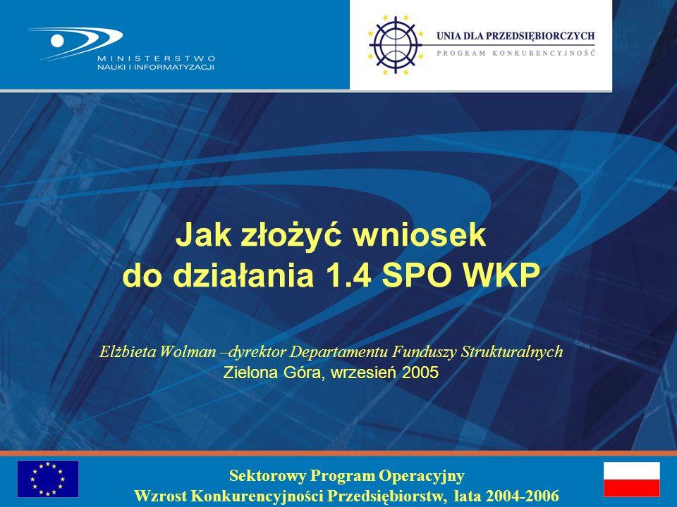 Szczegółowe informacje: Departament Badań na Rzecz Gospodarki: dbg@mnii.gov.pl Departament Funduszy Strukturalnych dfs@mnii.gov.pl Dziękuję za uwagę !