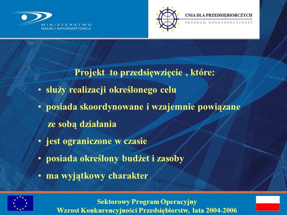 Jak złożyć wniosek do działania 1.4 SPO WKP Elżbieta Wolman –dyrektor Departamentu Funduszy Strukturalnych Zielona Góra, wrzesień 2005 Sektorowy Program Operacyjny Wzrost Konkurencyjności Przedsiębiorstw, lata 2004-2006