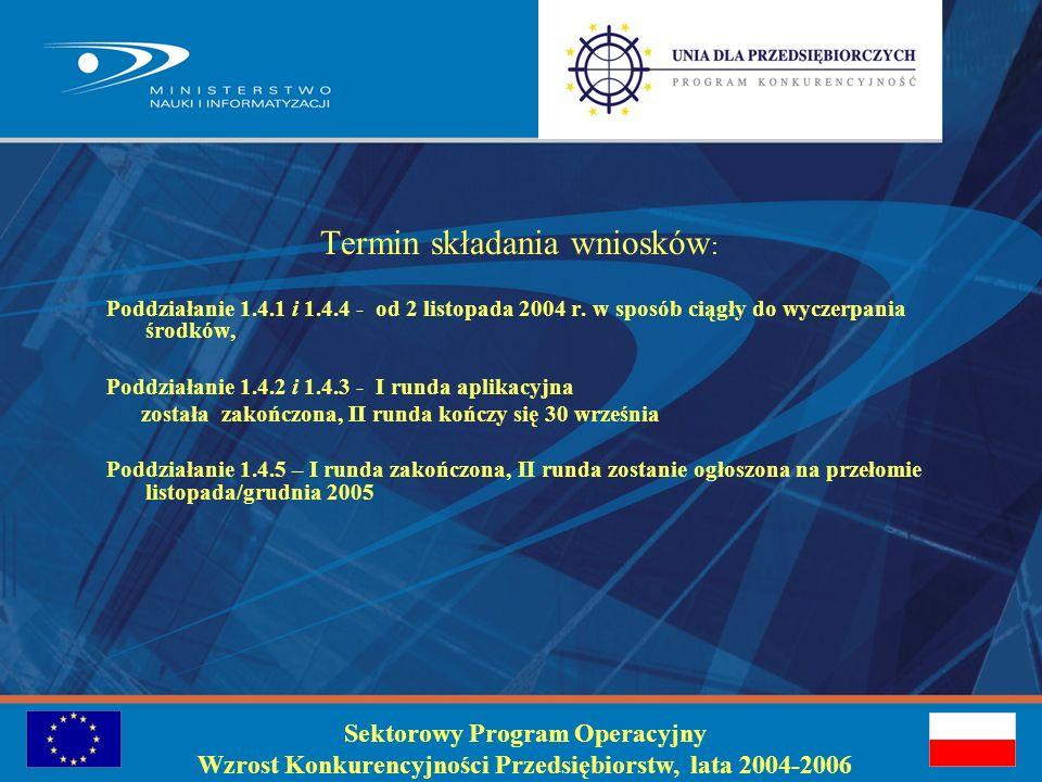 Koszty kwalifikowane: Rozporządzenie Komisji (WE) 448/04 z dnia 10 marca 2004 r oraz szczegółowo Rozporządzenie Ministra Nauki i Informatyzacji z dnia 4 sierpnia 2005 r.