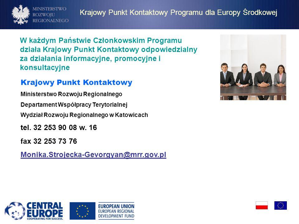 W każdym Państwie Członkowskim Programu działa Krajowy Punkt Kontaktowy odpowiedzialny za działania informacyjne, promocyjne i konsultacyjne Krajowy P