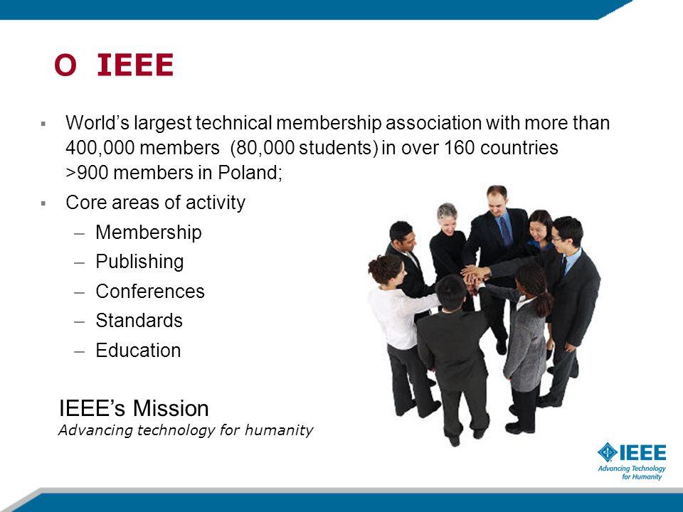 AEROSPACE communications CIRCUITS COMPUTING Wszechstronne źródło wiedzy IEEE wydaje publikacje dotyczące różnych zagadnień technicznych To więcej niż tylko electrical engineering & computer science