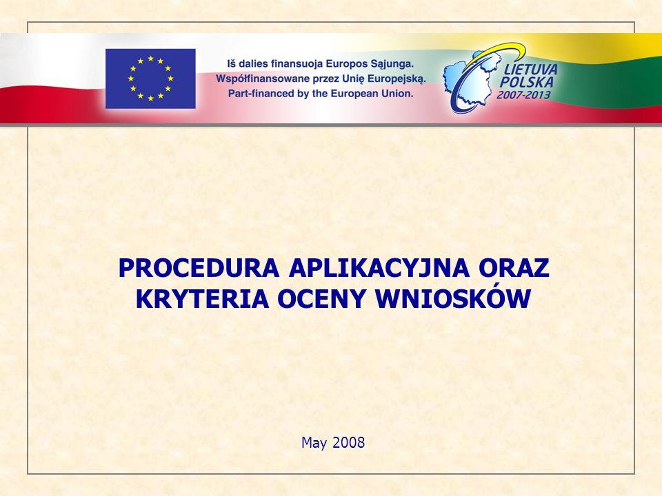 Spis treści: 1.Informacje ogólne 2. Procedura składania wniosków 3.