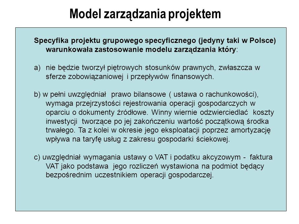 Model zarządzania projektem Specyfika projektu grupowego specyficznego (jedyny taki w Polsce) warunkowała zastosowanie modelu zarządzania który: a)nie