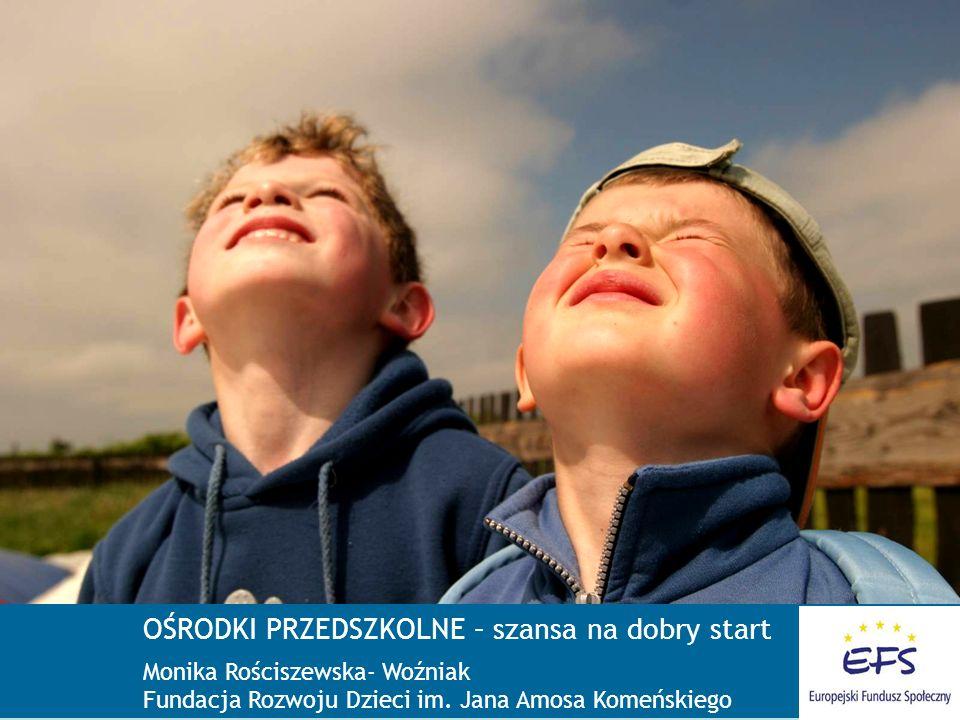 W 2005 roku mieliśmy: 1 105 280 dzieci w wieku 3-5 lat, w tym: ponad 750 000 (63%) dzieci nie uczęszczało do przedszkola Dramatyczne statystyki % 4-latków w placówkach edukacyjnych – Eurostat 2004