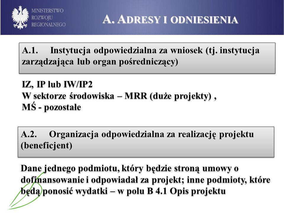 G.U ZASADNIENIE WKŁADU PUBLICZNEGO G.1.