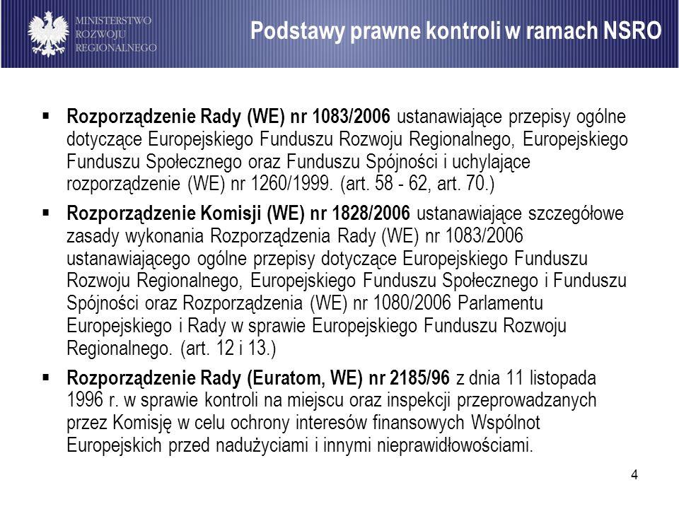4 Rozporządzenie Rady (WE) nr 1083/2006 ustanawiające przepisy ogólne dotyczące Europejskiego Funduszu Rozwoju Regionalnego, Europejskiego Funduszu Sp