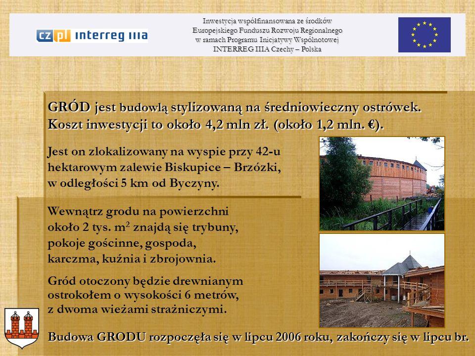 Inwestycja współfinansowana ze środków Europejskiego Funduszu Rozwoju Regionalnego w ramach Programu Inicjatywy Wspólnotowej INTERREG IIIA Czechy – Po