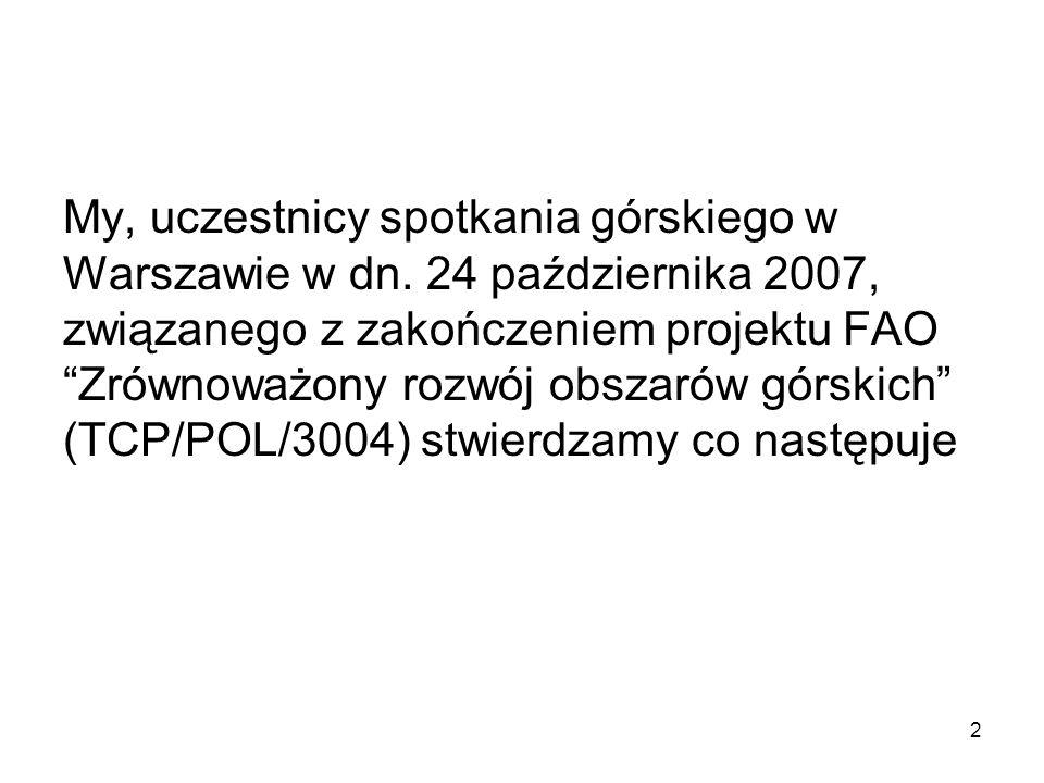 2 My, uczestnicy spotkania górskiego w Warszawie w dn.
