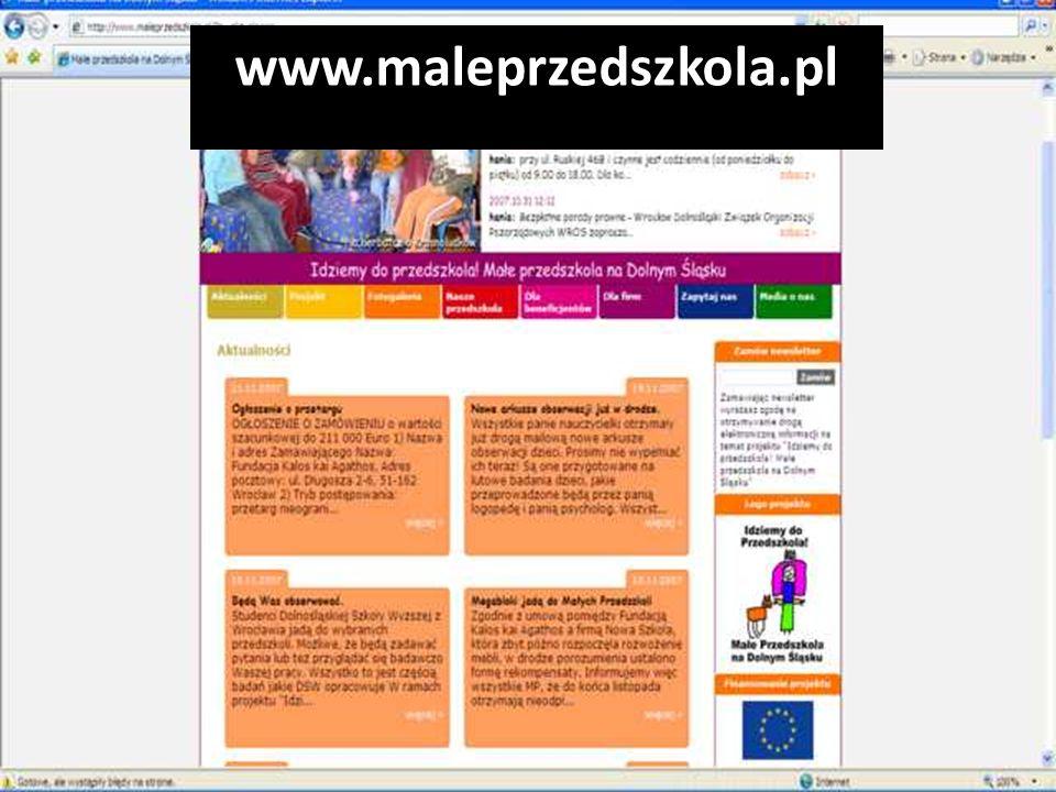 www.maleprzedszkola.pl