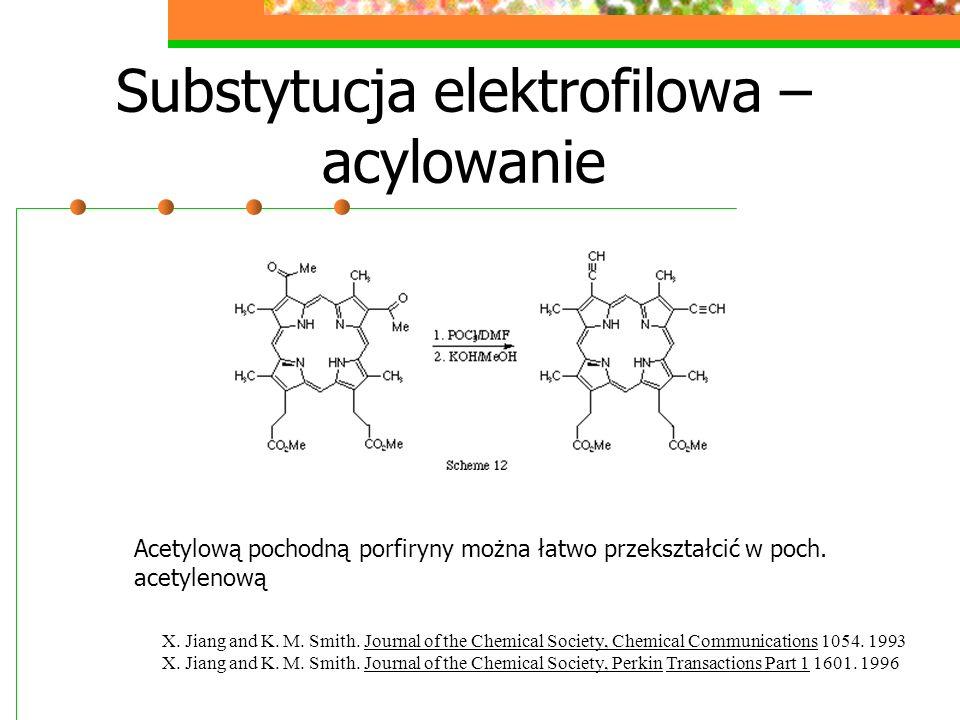 Substytucja eletrofilowa – nitrowanie Nirowanie zachodzi w pierwszej kolejności w poz.