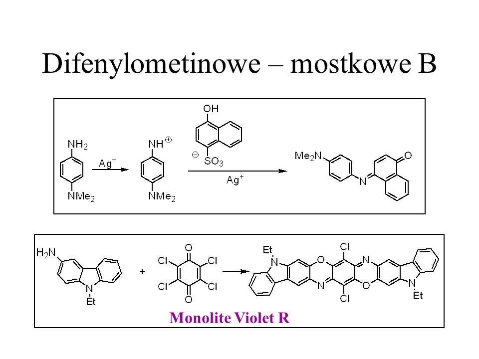 Difenylometinowe – mostkowe B Monolite Violet R