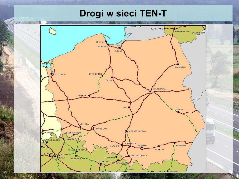 Drogi w sieci TEN-T