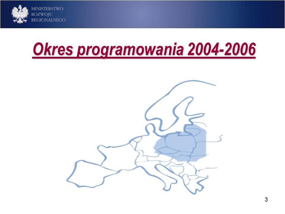 3 Okres programowania 2004-2006