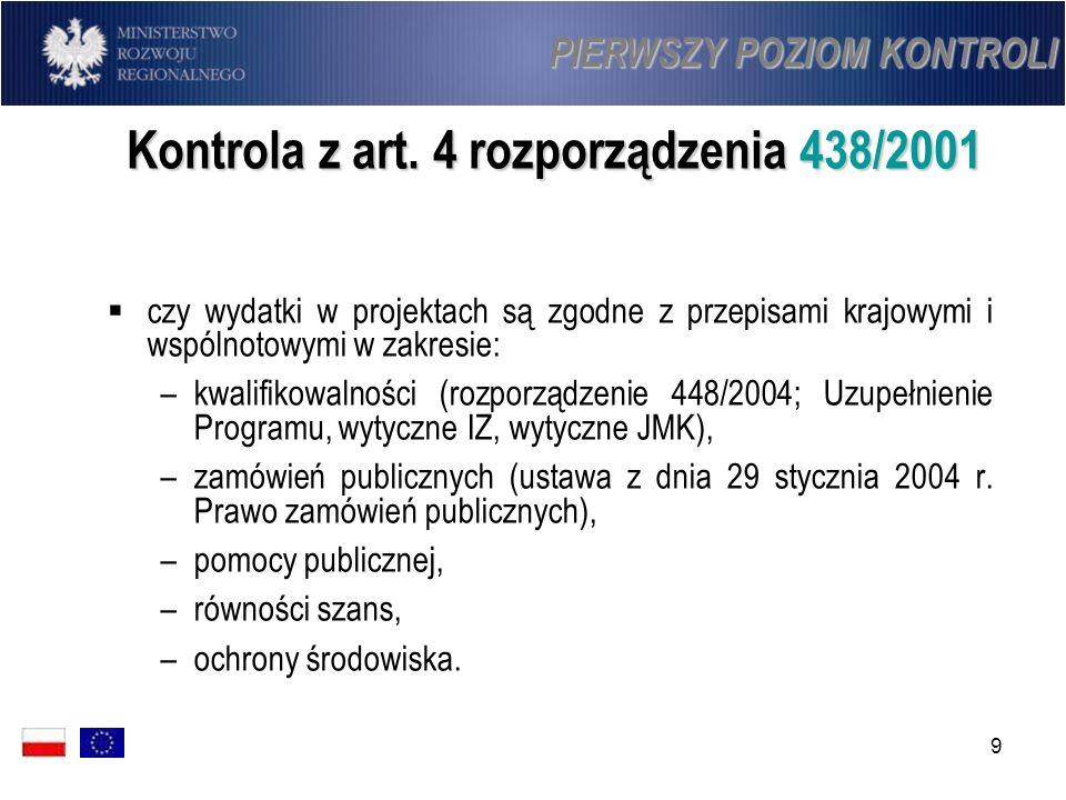 60 WERYFIKACJA WYDATKÓW Obszary weryfikacji (1): Instytucje działające w imieniu IZ w Polsce są zobowiązane do przeprowadzania weryfikacji sprawdzających w szczególności czy: Instytucje działające w imieniu IZ w Polsce są zobowiązane do przeprowadzania weryfikacji sprawdzających w szczególności czy: wniosek o płatność wraz z załączonymi kopiami dokumentów poświadczonymi przez beneficjenta za zgodność z oryginałem, potwierdzającymi poniesione wydatki lub wraz z zestawieniem dokumentów potwierdzających poniesione wydatki, przekazywany jest do właściwej instytucji odpowiedzialnej za weryfikację wniosków o płatność, wniosek o płatność wraz z załączonymi kopiami dokumentów poświadczonymi przez beneficjenta za zgodność z oryginałem, potwierdzającymi poniesione wydatki lub wraz z zestawieniem dokumentów potwierdzających poniesione wydatki, przekazywany jest do właściwej instytucji odpowiedzialnej za weryfikację wniosków o płatność, dostawy, usługi i roboty budowlane współfinansowane w ramach projektów zostały rzeczywiście wykonane zgodnie z decyzją o dofinansowaniu/umową o dofinansowanie, dostawy, usługi i roboty budowlane współfinansowane w ramach projektów zostały rzeczywiście wykonane zgodnie z decyzją o dofinansowaniu/umową o dofinansowanie,