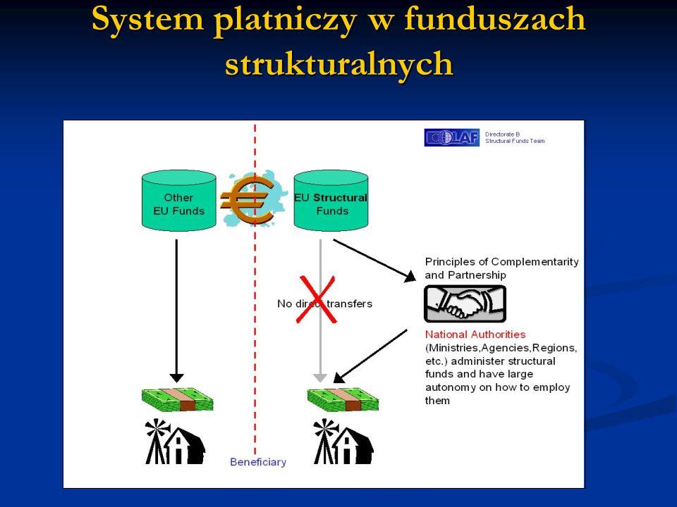 System platniczy w funduszach strukturalnych