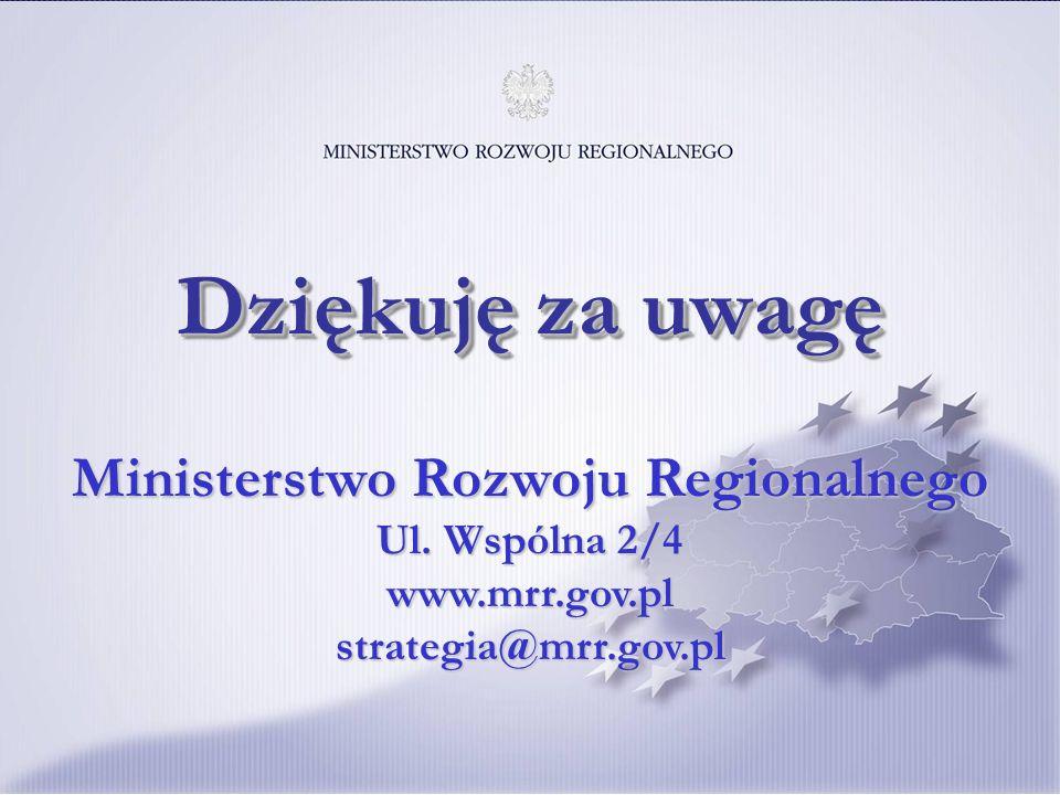11 Ministerstwo Rozwoju Regionalnego Ul.