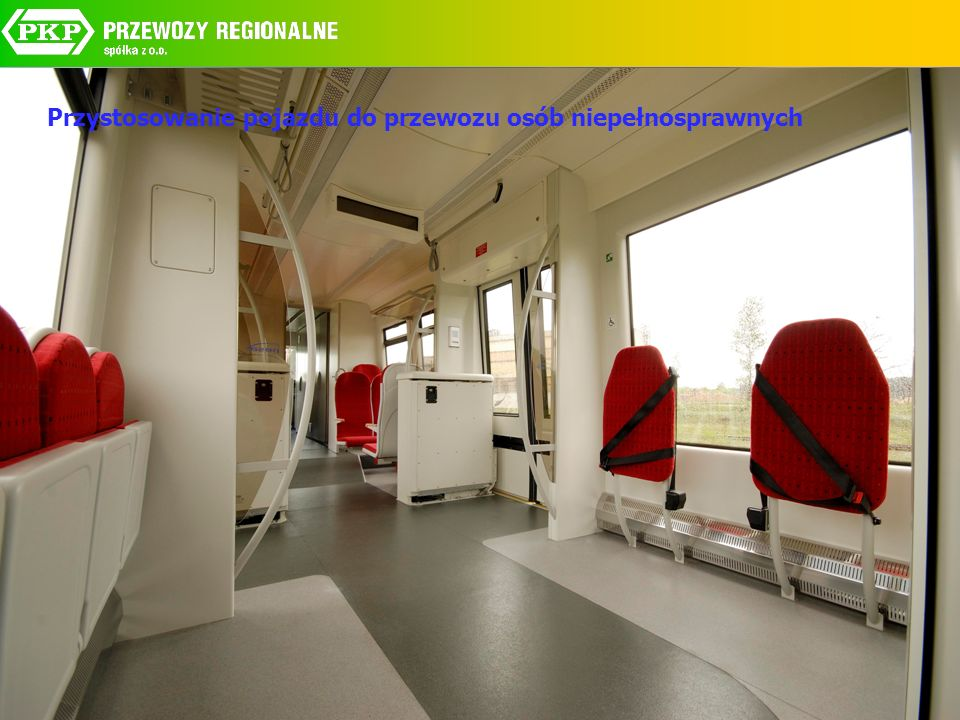 Przystosowanie pojazdu do przewozu osób niepełnosprawnych