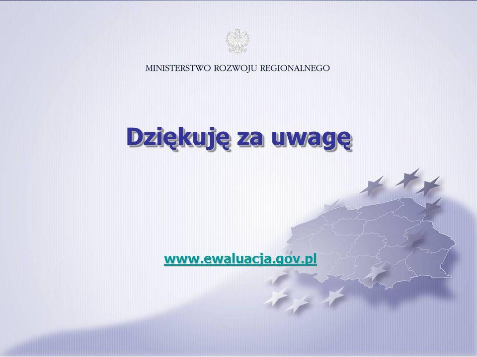 17 www.ewaluacja.gov.pl www.ewaluacja.gov.plwww.ewaluacja.gov.pl Dziękuję za uwagę