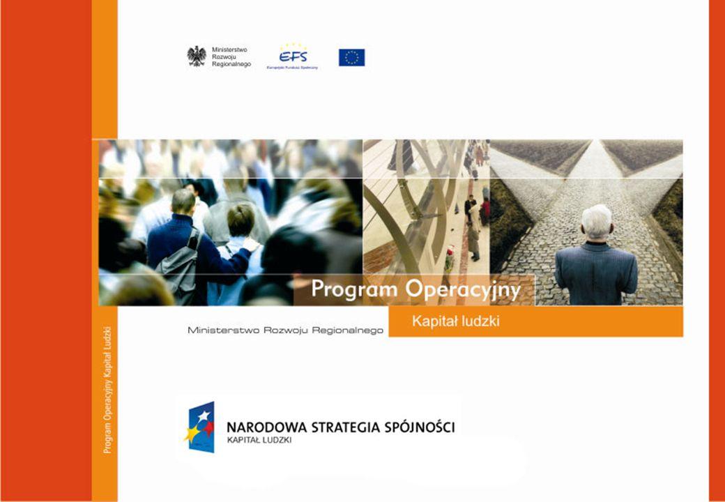 PLAN OCENY Programu Operacyjnego Kapitału Ludzkiego Proces ewaluacji na lata 2007-2015