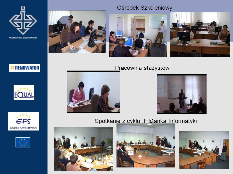 Ośrodek Szkoleniowy Pracownia stażystów Spotkanie z cyklu Filiżanka Informatyki