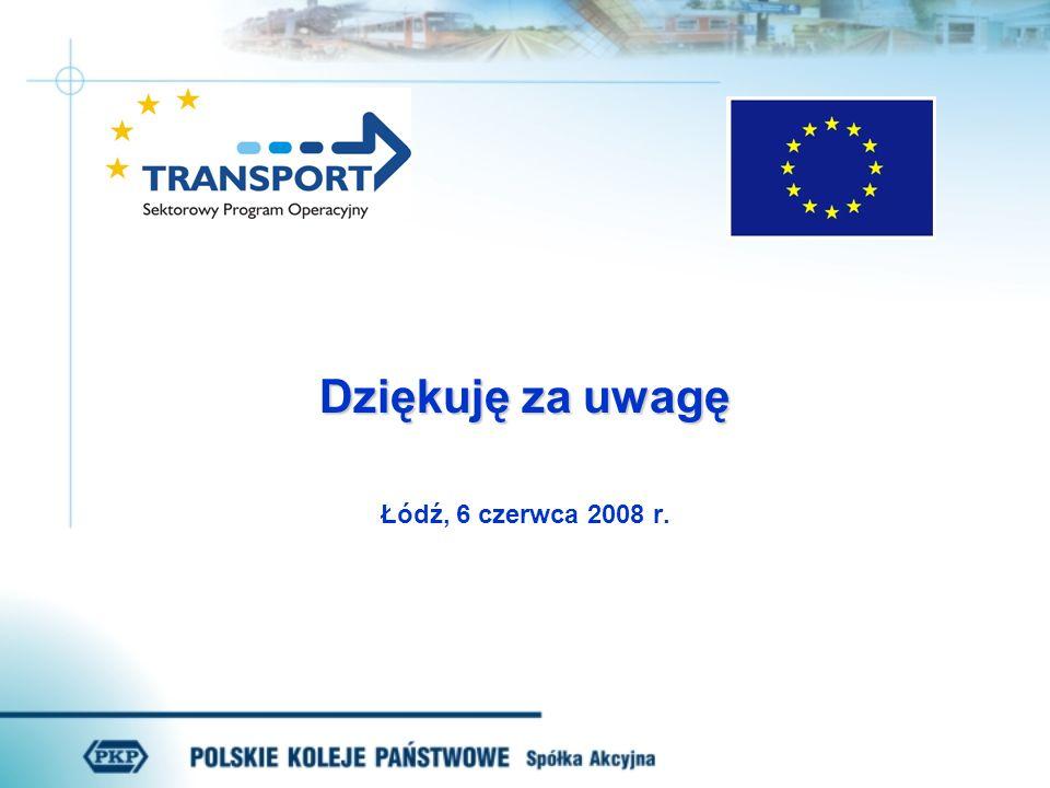 Dziękuję za uwagę Łódź, 6 czerwca 2008 r.